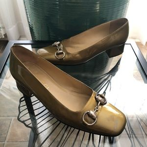 Gucci Classic Pumps Shoes Patent Leather Italy